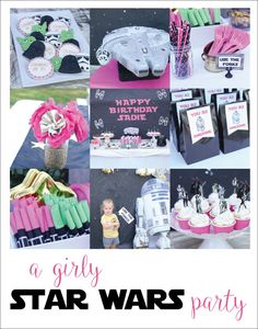 Girly star wars party