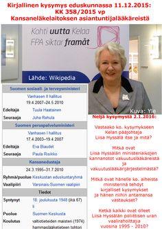 Kelan pääjohtaja Liisa Hyssälä ja keskustapuolue viemään vakuutuslääkärijärjestelmän avaaminen maaliin asti.
