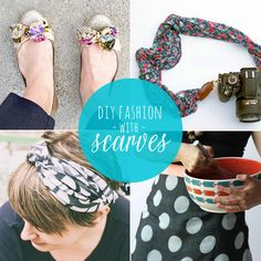 10 Ways to Remake a Scarf from Babble.com