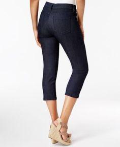Nydj Alina Tummy-Control Capri Jeans - Blue 14