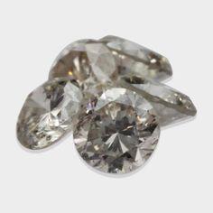 0.27 ctw, 2.30 mm, Champagne, I1 Clarity, Round Brilliant Real Matching Diamonds #diamonds #loosediamonds #fancydiamonds #yellowdiamonds @dmzdiamonds