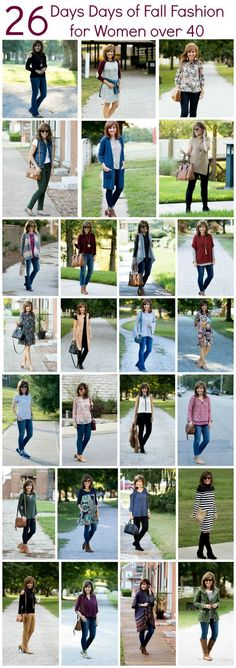 26 DAYS OF FALL FASHION  TIPS FOR WOMEN OVER 40  http://www.fashionflippes.com