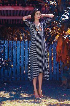 0d4cd9e39e2 Pieced Stripe Dress  anthropologie Modest Dresses
