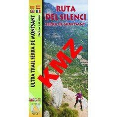 Ruta del silenci [Document cartogràfic] : Serra de Montsant Barcelona : Piolet, DL 2014 Barcelona, Cover, Books, Art, October, Art Background, Libros, Book, Kunst