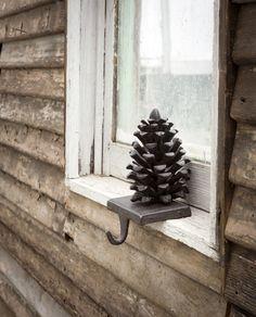 Pine Cone Stocking Holder - Hudson and Vine