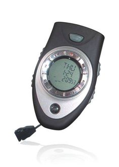 Digital Compass Product Description Direction tracking, 20 direction memories Two row display for lap/split time measurements with 1/100 sec. Store and recall of up to 10 lap & split time...