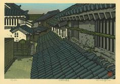 """Nishijima Katsuyuki, """"Houses of Imai-cho"""""""