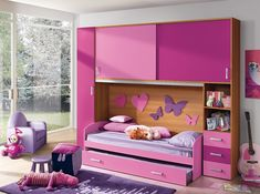Modern Kids Bedroom Composition VV S028RL - $2,265.00