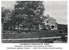 "Waldhausen Kr. Insterburg, Oberförsterei, Jagdhaus ""Hubertus"" Prussia, Photo Postcards, Drawings, Pictures, Outdoor, Hunting, Photos, Outdoors, Sketches"