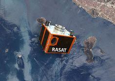 Milli Rasat uydusundan İstanbul görüntüleri