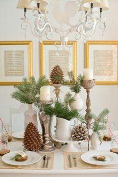 Friday Pinterest Finds: Holiday Tablescapes - Social Tables   Blog   SocialTables.com   Event Planning Software
