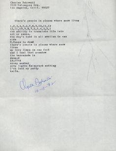 Bukowski Charles Bukowski Poems, Lettering, Words, Drawing Letters, Horse, Brush Lettering