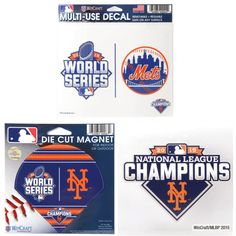 New York Mets WinCraft 2015 National League Champions Custom Fan Pack - $13.29