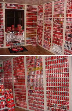 Colaplaza.coms owner is an anonymous Coca-Cola can collector. He has been collecting since the early 80s and has over 8000 different Coca-Cola cans in his collection.