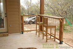 Modern Porch Railing: A How-To (kinda)