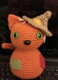 Scarecrow kitty by storerboughtcreations