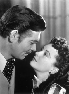 Clark Gable, Vivien Leigh. He could not be any more handsome