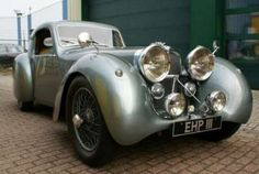 1938 Jaguar SS100 Fixed Head Coupe