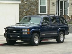What my truck currently looked like stock Chevrolet Suburban, Chevrolet Trucks, Chevy Trucks, Pickup Trucks, Chevy Tahoe Z71, Punisher Marvel, Large Truck, Hummer, Cars And Motorcycles
