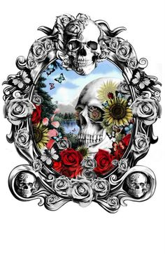 Skull Designs by Kristy Patterson: http://skullappreciationsociety.com/skull-designs-kristy-patterson/ via @Skull_Society