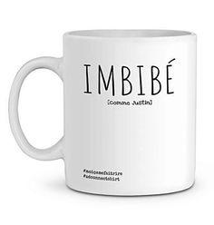 Mug En Céramique - Imbibé (Comme Justin) - Zé Connect Shirt