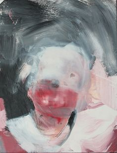 Skin and Teeth Head, Artist: Antony Micallef, Size: 60 cm x 45 cm, Edition: Unique, Year: 2009, Material: Oil on Linen