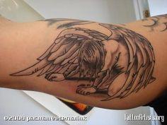 Fallen Angel Tattoos For Women | fallen angel tattoo for women for women of fallen angel