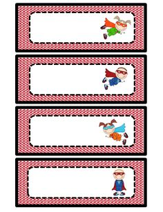 Teaming Up To Teach: Superhero Classroom Theme.and a freebie! Use these for classroom helpers: Wonder boy and Wonder girl Superhero Classroom Theme, 2nd Grade Classroom, New Classroom, Kindergarten Classroom, Classroom Themes, Superhero Name Tags, Superhero Labels, Superhero Preschool, Superhero Template