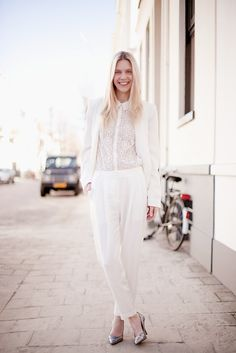 baby & bridal showers remain one of life's last overtly feminine traditions, we think it only appropriate to be totally boyish and unconventional! Try [Tapered Trousers + Blouse + Blazer + Chunky Necklace] or [Button-Up + Pencil/Circle Skirt + Brogues]