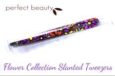 Perfect Beauty Flower Collection Slanted Tweezers - Review & Pictures | Beautetude