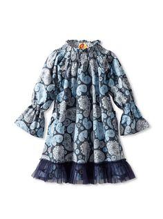 Masala Baby Girl's Paisley Dress