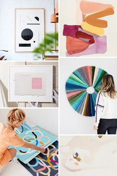 16 Incredible Female artists You Should Be Following #femaleartist #artist #artwork Painting Inspiration, Color Inspiration, Ceramic Wall Planters, Inspirational Artwork, Cool Artwork, Amazing Artwork, Grafik Design, Artist Art, Art World