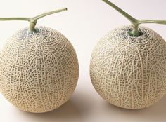 Yabari King Melons, the pair cost between $50-$100