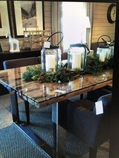 Table Decorations, Christmas, Furniture, Cabinets, Home Decor, Creative, Xmas, Armoires, Decoration Home
