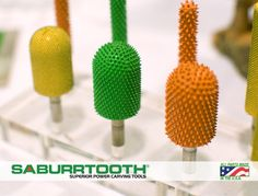 Ball nose shank burrs, some of our most popular.
