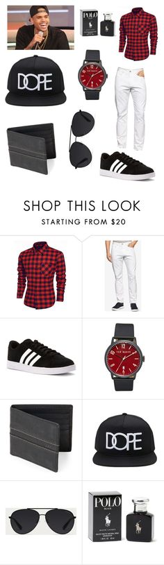 """Chris Brown"" by jalicia-f-elder ❤ liked on Polyvore featuring Curbside, Calvin Klein, adidas, Ted Baker, FOSSIL, 21 Men, Bally, Ralph Lauren, men's fashion and menswear"