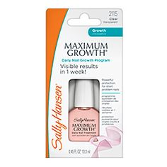 """I love this awesome polish. It's terrific as a base coat/ridge filler and it is great to wear alone for a very natural look. I don't even use it for the """"growth""""."""