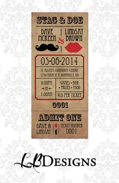 Stag And Doe Party Invitation Template Royalty Free Stock Vector Art Templates Pinterest Invitations