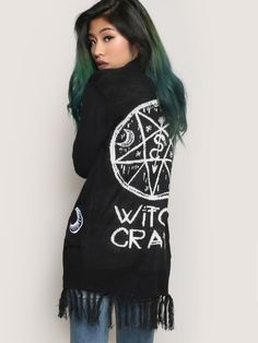 Witchcraft Cardigan - Gypsy Warrior