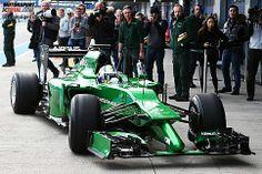 Marcus Ericsson (Caterham) - Transformer