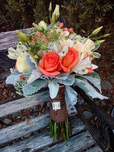 Fieldstone Florals - Santa Rosa, CA Florals, Wedding Flowers, Table Decorations, Bridal, Bouquets, Santa, Cream, Floral, Creme Caramel