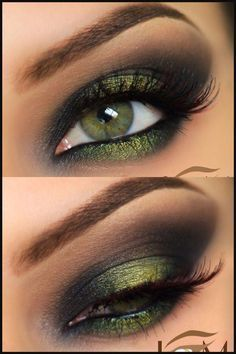 Perfect ideas for green eyes - Make-up ideas - # ideas . - Perfect ideas for green eyes – Make-up ideas – # ideas You are - Gorgeous Makeup, Love Makeup, Makeup Inspo, Makeup Inspiration, Makeup Course, Simple Makeup, Unique Makeup, Dead Gorgeous, Makeup Goals
