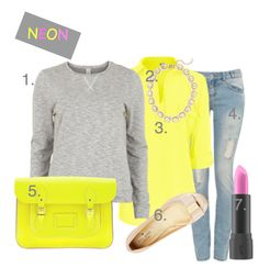 Get The Neon Look! - My Fash Avenue