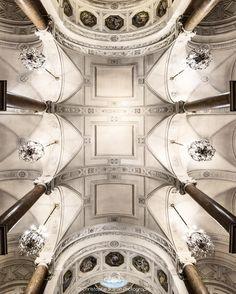 """274 Likes, 14 Comments - Buiron Christophe (@cbuiron) on Instagram: """"Lookup...ce soir une vue sur le magnifique plafond qui surplombe l'escalier d'honneur de l'hôtel de…"""""""