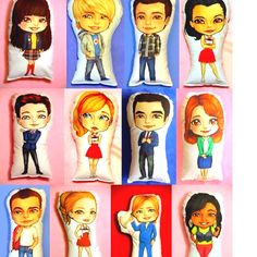 Glee pillows!!! OMG these are so amazing!!!