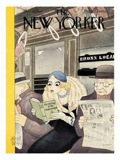 The New Yorker Cover - March 10, 1934   by Abner Dean