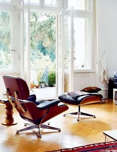 Lounge Chair by Vitra.   Design by Charles & Ray Eames.