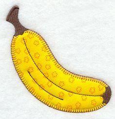 Banana (Heirloom Applique)