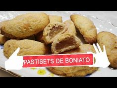 PASTISETS DE BONIATO - YouTube Empanadas, French Toast, Breakfast, Youtube, Food, Vase, Cook, Food Recipes, Sweets