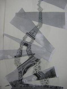 ATELIER 2 Arts Plastiques: quelques images des stages Plus Tour Eiffel, Atelier D Art, Ecole Art, High School Art, Art Lessons Elementary, High Art, Drawing Lessons, Elements Of Art, Diy Arts And Crafts